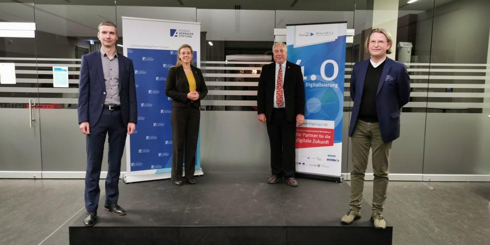 Dr. Mauricio Matthesius, Maja Eib, Dr. Norbert Lossau, Karsten Jauch
